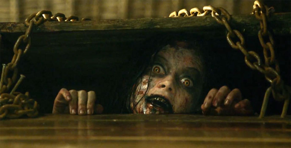 Risultati immagini per evil dead 2013