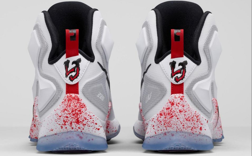 bd26e4bf6934 LeBron James Releasing Bloody Nikes on Friday the 13th