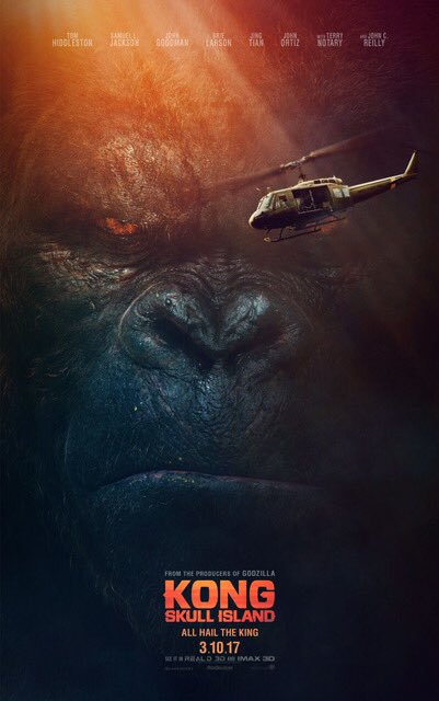 King Kong Roars Like Royalty In Two New Kong Skull Island Posters
