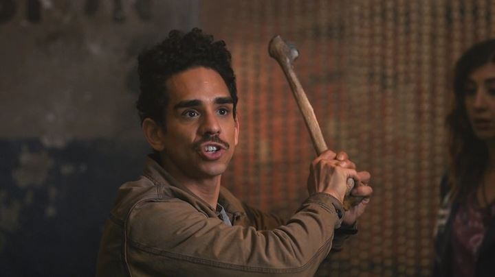 interview ash vs evil dead s ray santiago is leaving his mark on