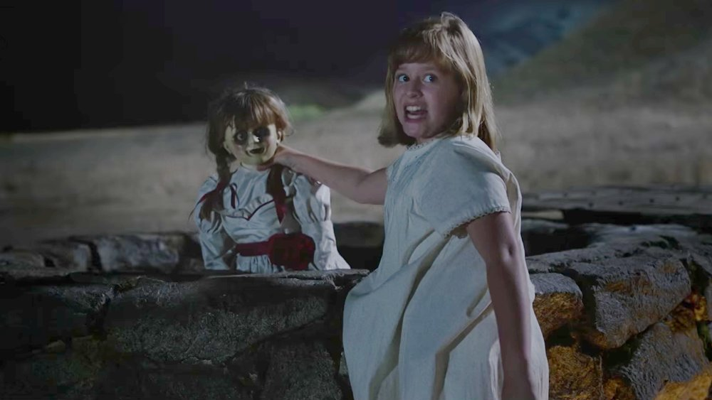Annabelle Creation 2017 Demented Doll Feature Earns