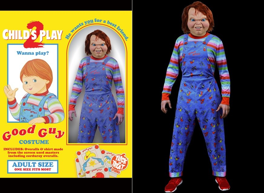 82a4f5b4 Child's Play: Slay like Chucky with Trick or Treat costume this October