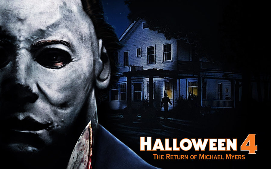 halloween horror nights halloween 4 the return of michael myers house poster