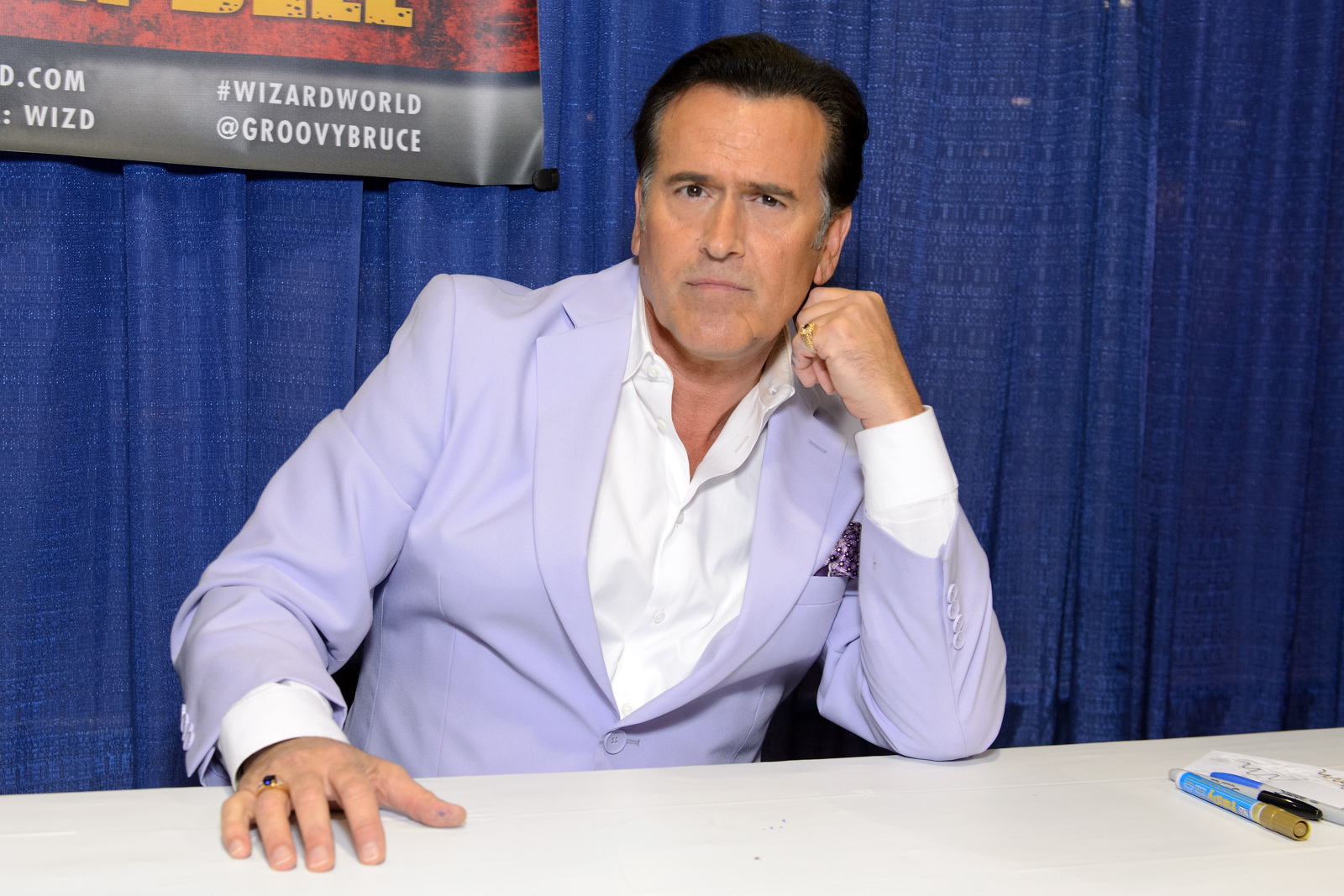 """Bruce Campbell spills on """"House Divided"""" political satire film"""