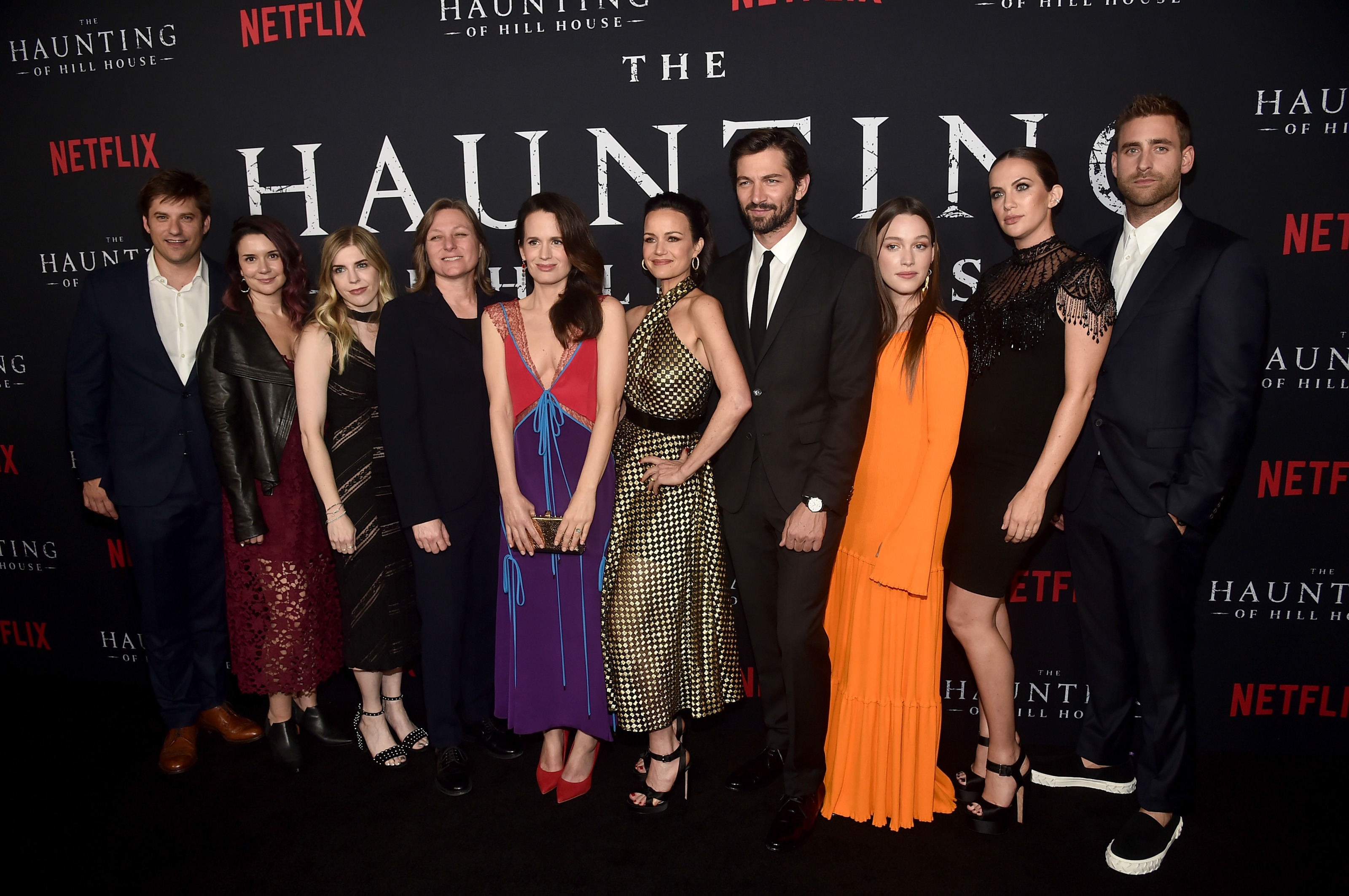 Cast of the haunting of hill house